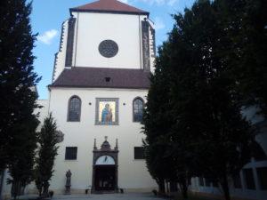 Kostel Panny Marie Sněžné u Jungmannova náměstí